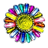 snap flower design multi color 8018
