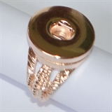 ROSE GOLD RING SIZE 6