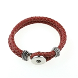 1 snap leather  Bracelets color