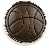 snap basket ball copper