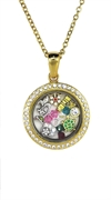 Locket Pendent Large-Gold