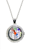locket pendant Large-Silver