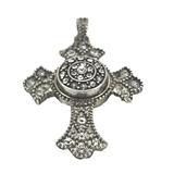 snap pendant cross