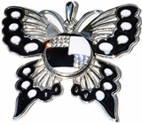 snap pendant butterfly design
